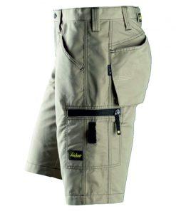 Snickers korte broek 6102 khaki