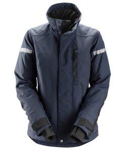 Het Snickers 1107 Allroundwork damesjack is een geïsoleerd jack met damespasvorm dat geschikt is voor dagelijks gebruik in koud en winderig weer.